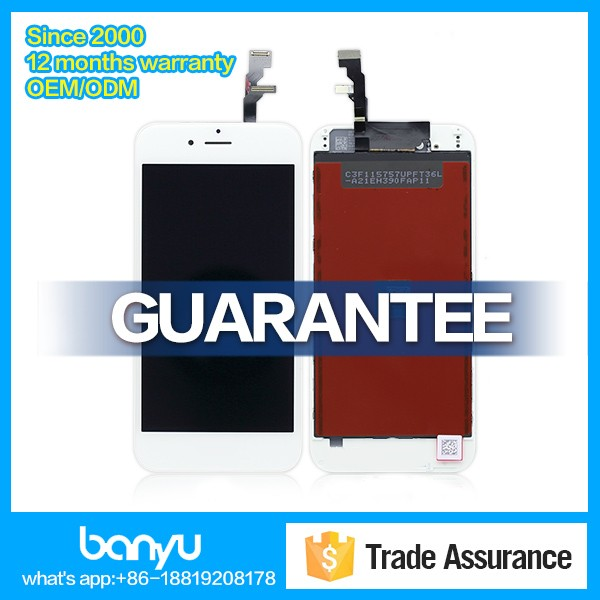 Lcd display orginal quality for apple iphone 6 screen replacement