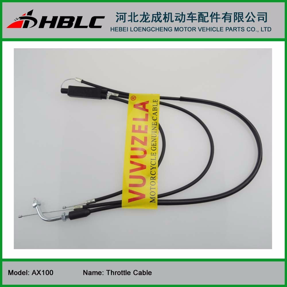MOTORCYCLE THROTTLE CABLE FOR JINCHENG AX100