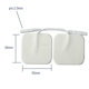 2016 New invention electrical stimulator massager tens replacement electrode pad for tens unit