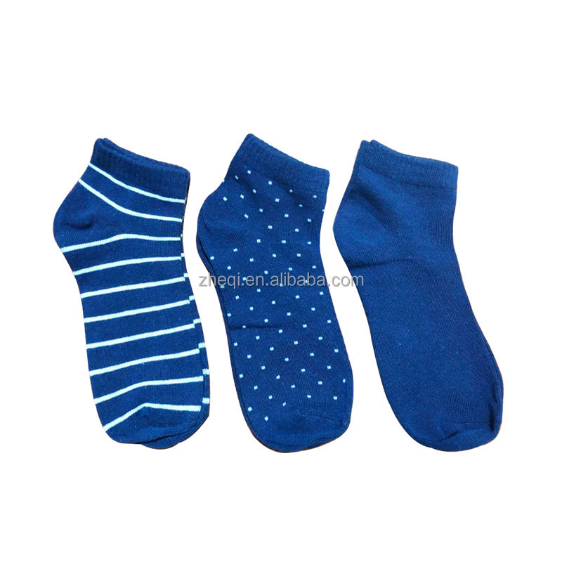 3 pairs a pack students sport ankle sock