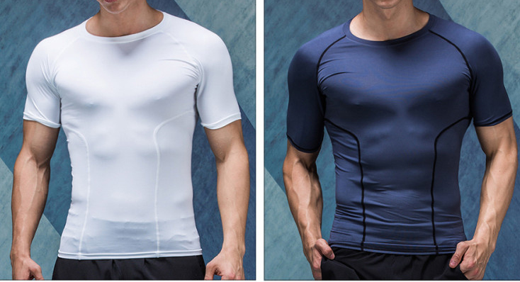 compression shirt,fishing shirt,compressed t shirt