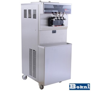 industrial second hand ice cream machine for frozen yogurt shop