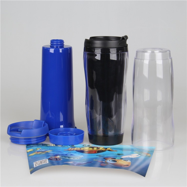 Hot Cake Food Grade Double Wall Plastic Tumbler With