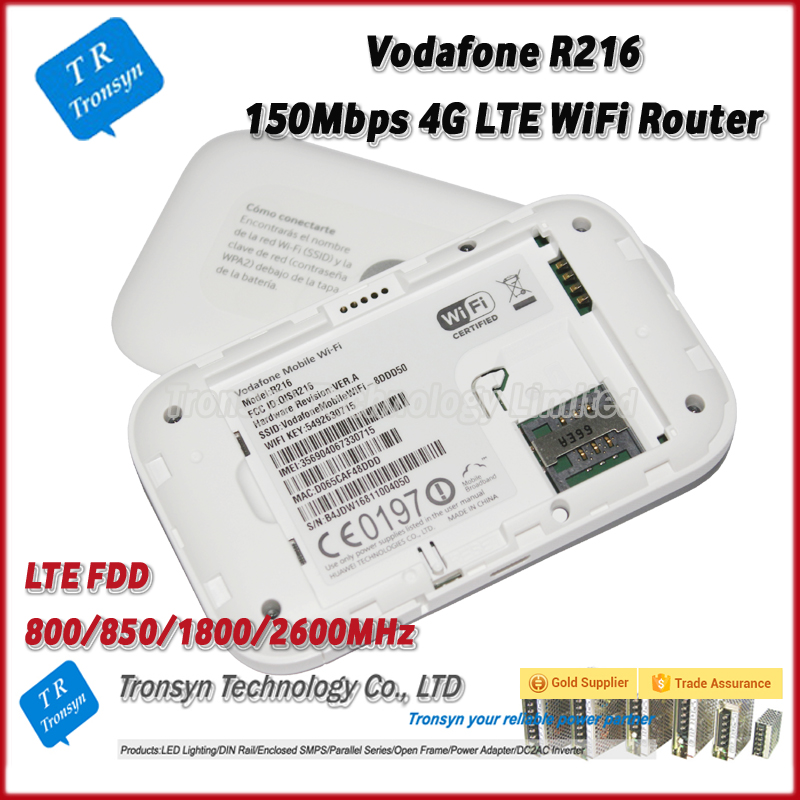 150mbps Vodafone R216 Mobile Wifi Hotspot Router Support  800/850/1800/2600mhz - Buy Mobile Wifi Hotspot,Mobile Wifi Hotspot  Router,150mbps Mobile Wifi