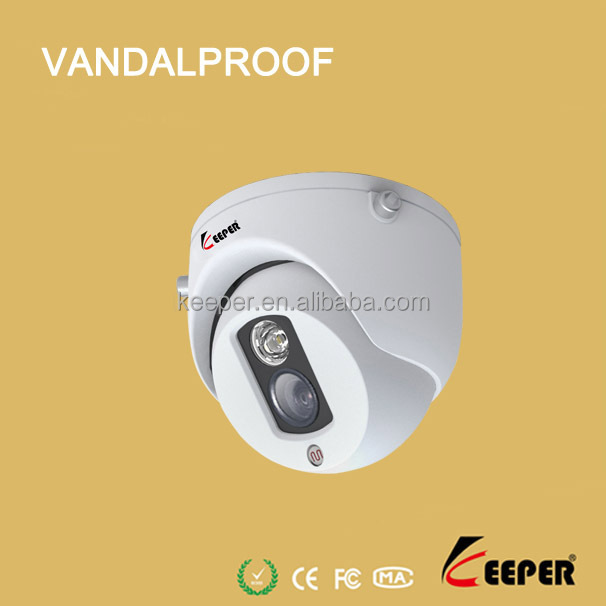 Keeper DIS 1000TVL IMX 238 CCTV camera mini vandal proof dome night vision, low price security camera