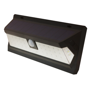 Solar led motion sensor light IP65 protection wall mounted garage outdoor light