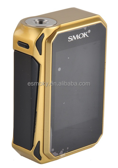 New arrival!!! Smok G-Priv Touch box mod 220w Has Big 2.4 Inch OLED Touch Screen Fit on SMOK TFV8 Baby Beast Tank G Priv Mod