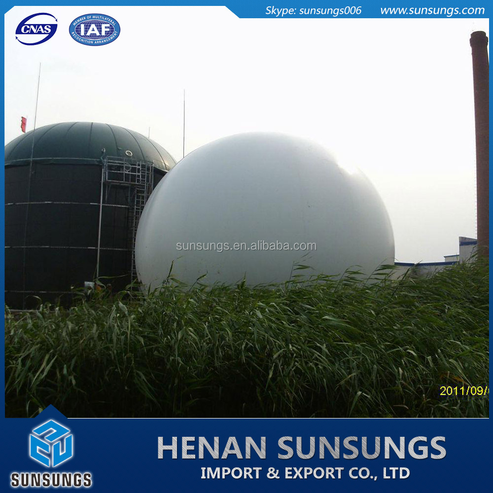 Biogas Storage Bag, Gas Tank Holder, Biogas Holding Tank