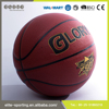 Hot sell 2016 new products microfiber basketball standard size , rubber basketball size 7 , custom basketball ball
