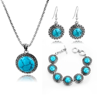 Fashion jewelry set,jewelry store,turquiose jewelry