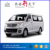 Chana G10 used gaslione cargo van for sale with 1T payload