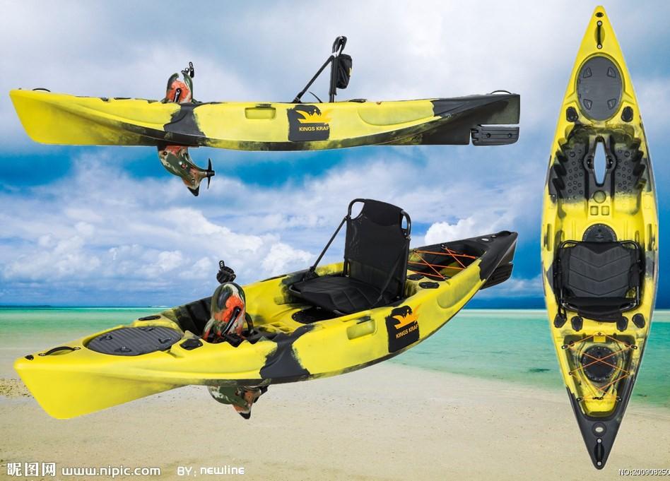 Single foot pedal kayak fishing kayak fun kayak fitness for Fishing kayak with foot pedals