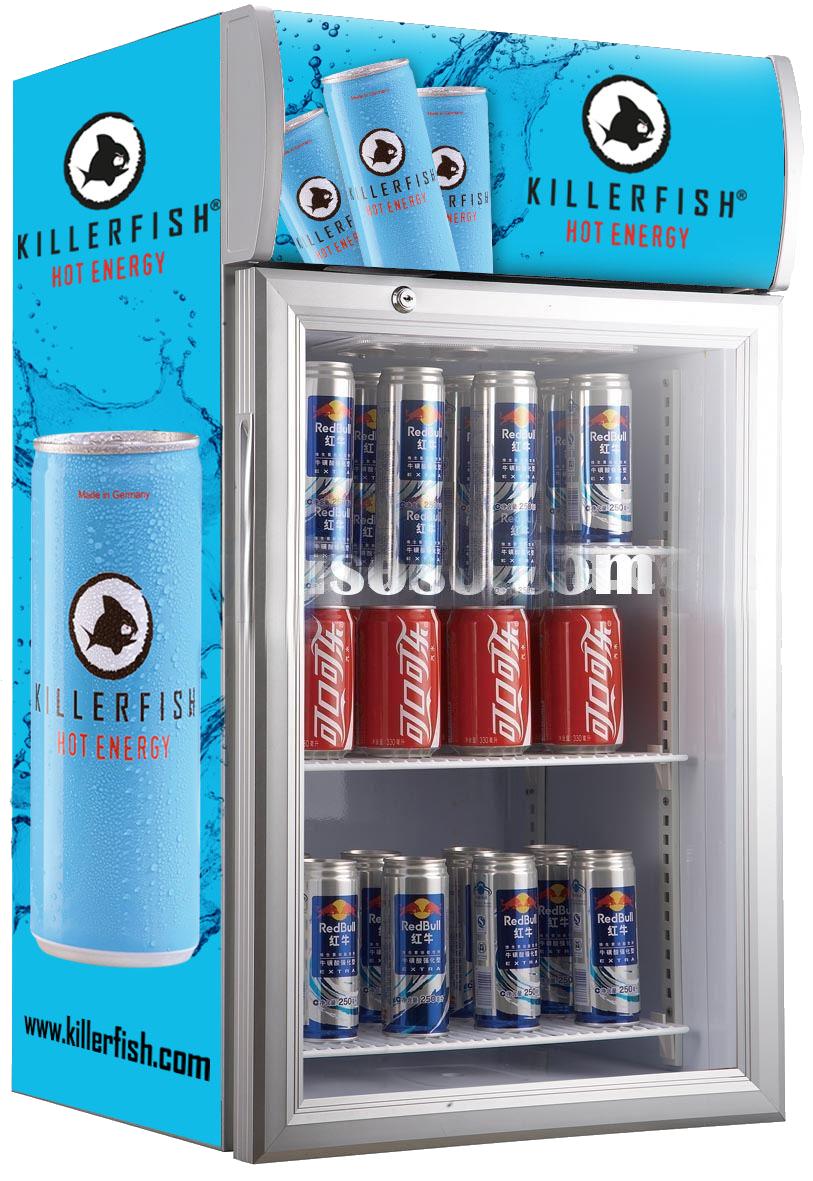 Bar Mini Display Kühlschrank/mini Kühlschrank Glas Transparent Tür ...