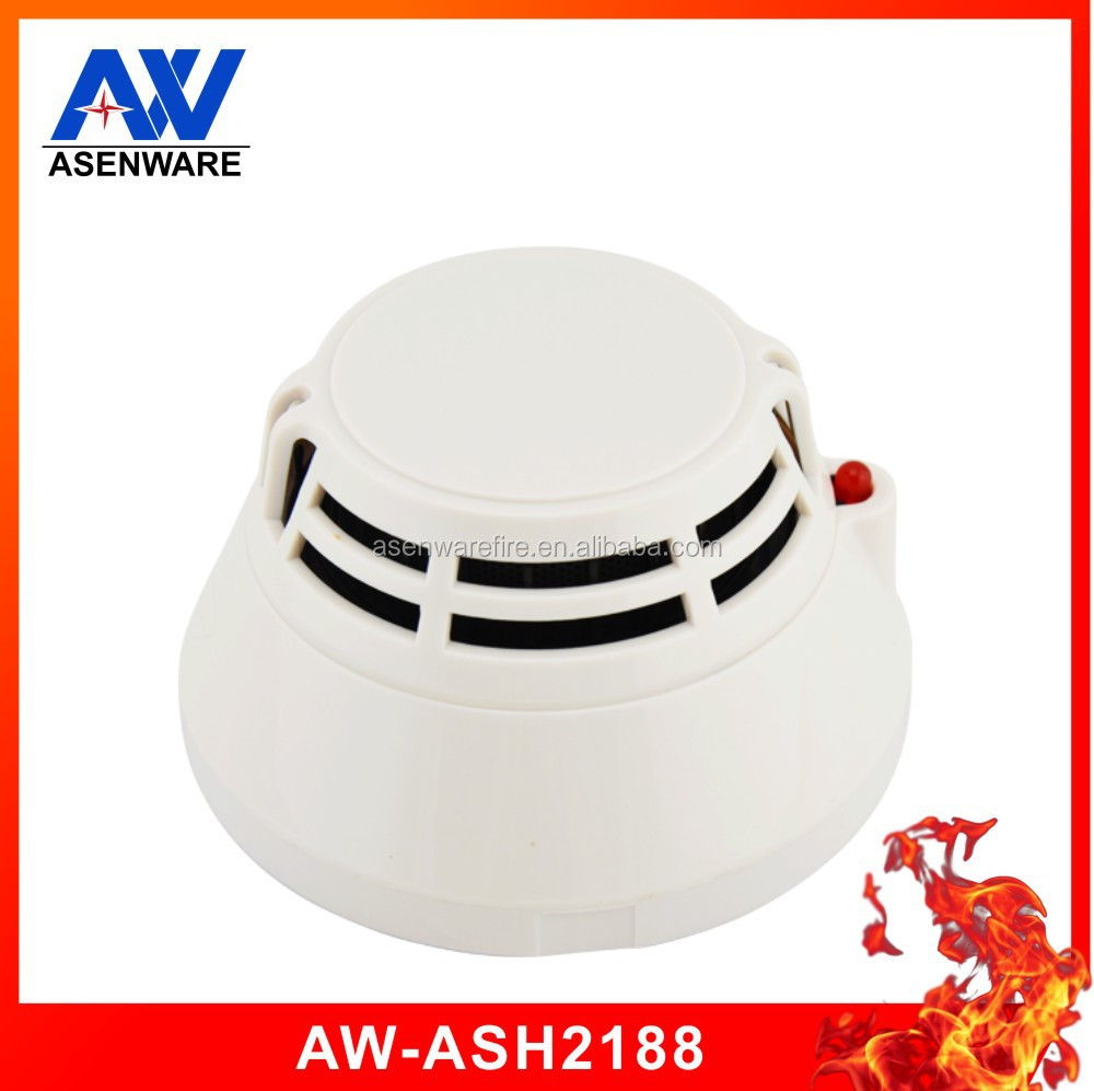 Asenware Fire Alarm 2 Wire Addressable Combined Smoke And Heat Detector Made In China