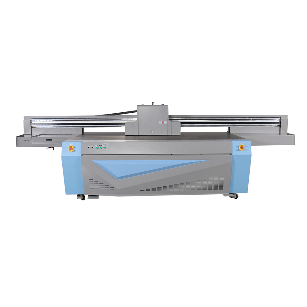 Uv flatbed glas printer met ricoh gen-5 printkop, glas uv printer