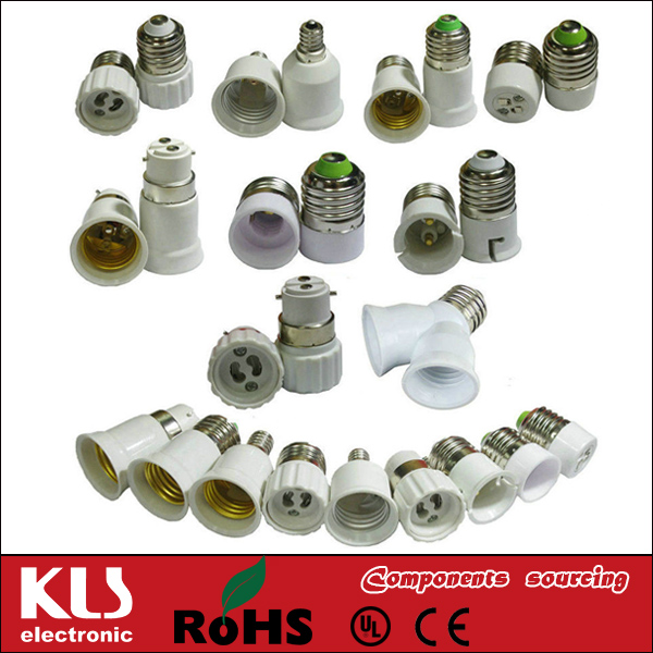 Good quality B22 to E27 longer adapter UL CE ROHS 173 KLS brand