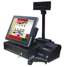 12/15/17 inch Windows All in one pos system/ EPOS/touch screen pos terminal