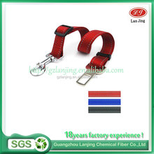 Flat PP Webbing Client's Customized Logo Colors webbing dog collar