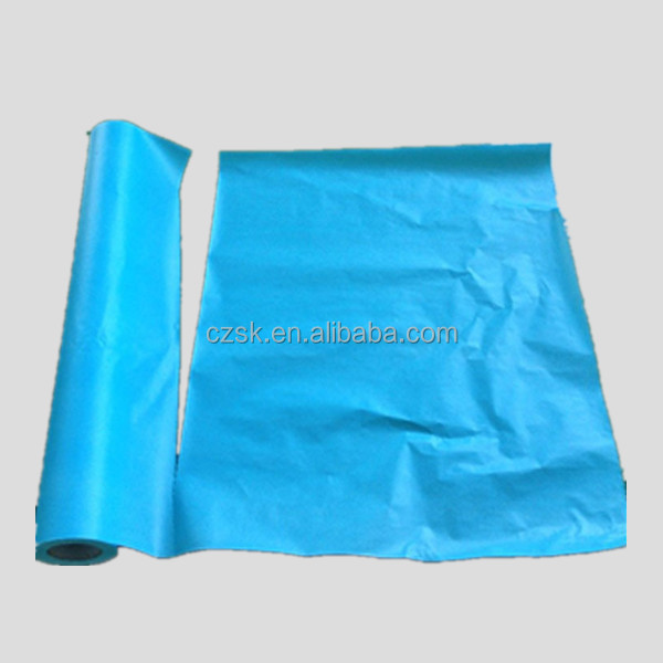 2 piy PP+blue disposable bed cover for dentist use
