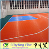 PP interlocking sports flooring basketball courts used flooring