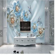 3D design wallpaper/wall mural for interior decoration