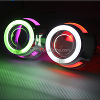 2.5 HID Xenon Projector Lens Light H1 H4 H7 with CCFL Halo Rings H1 Xenon Lamp