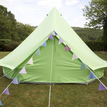 Apple Green Bell Tent with Zipped in Groundsheet & Apple Green Bell Tent With Zipped In Groundsheet - Buy Cotton ...