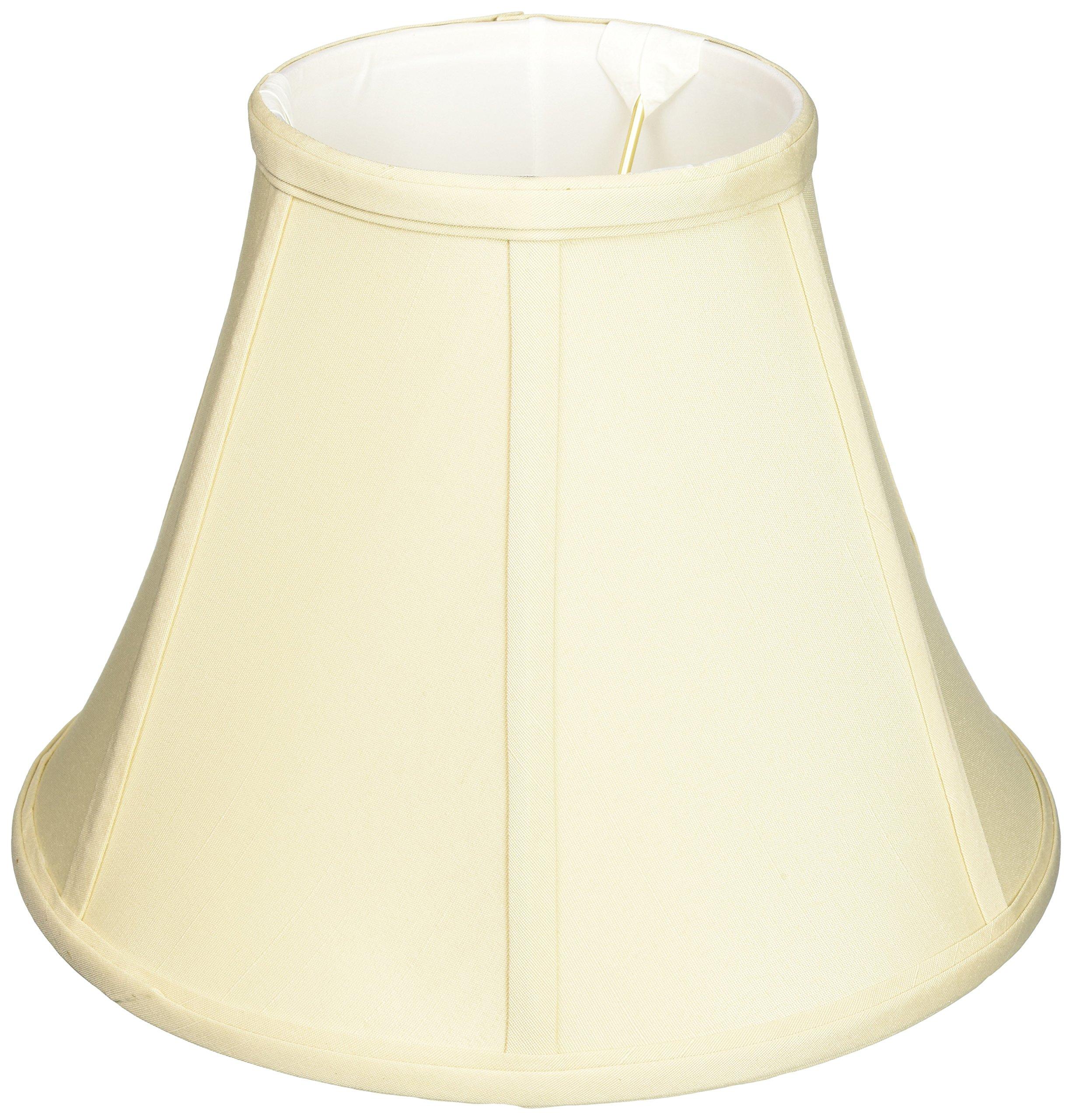 Royal Designs Deep Empire Lamp Shade, Beige, 5 x 10 x 8, UNO Floor Lamp