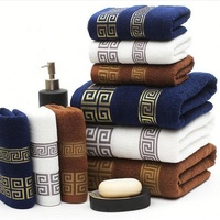 Manufacturers Wholesale Good quality Cheap price Cheap 100% cotton Face bath towel Set