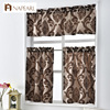 NAPEARL new design jacquard curtain set curved window treatments