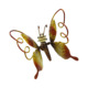 New design Led Luminous butterfly fridge magnet sticker