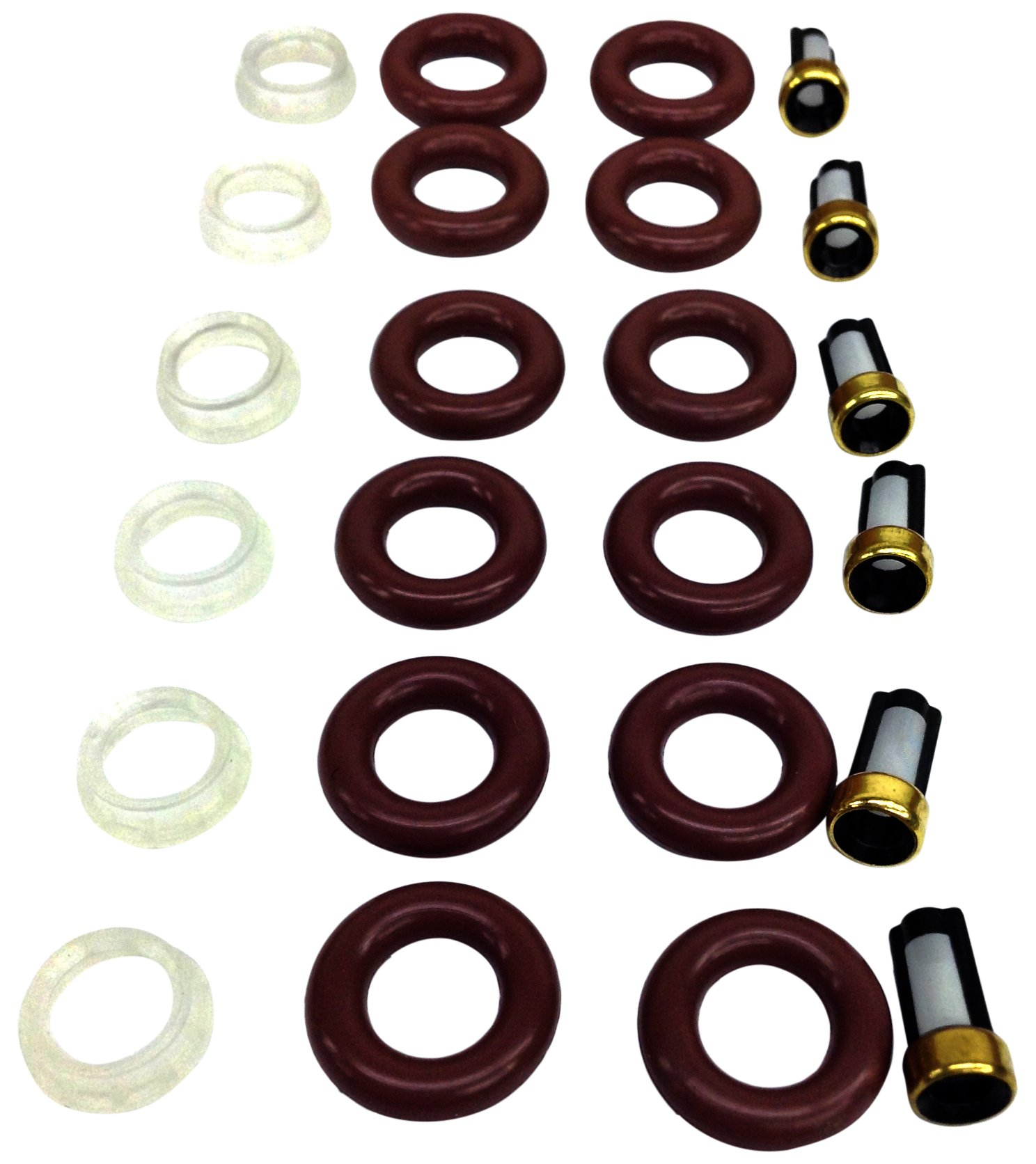 UREMCO 6-4 Fuel Injector Seal Kit 1 Pack