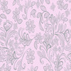 China Cotton Big Flower Pattern Printed Brushed Flannel Fabric