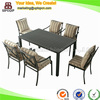 Treasures outdoor garden furniture set aluminum table and chair (SP-OT120)