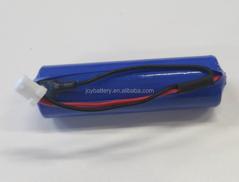 AA ER14505M 3.6V 2200mAh LiSOCl2 thionyl chloride primary lithium battery with JST-PH2.0 2P connector