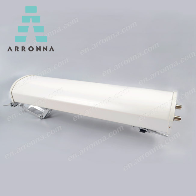 Arronna Hot sale WIFI /wlan/3G 4G LTE 1710-2700MHz 18dbi outdoor mimo sector BTS <strong>antenna</strong>