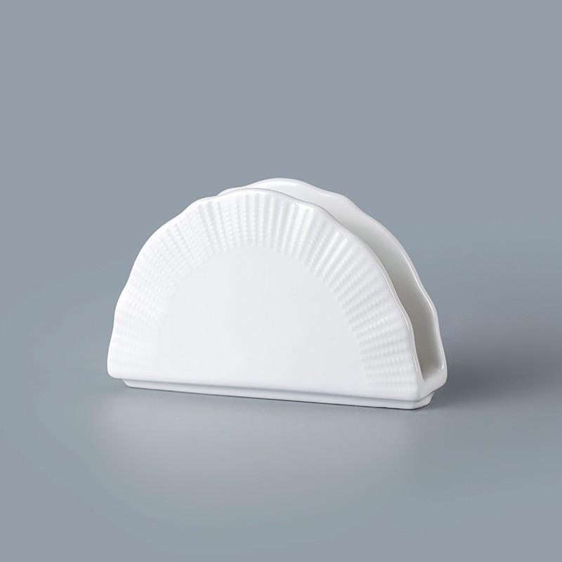 product-Two Eight-cheap white ceramic napkin holder wholesale promotion napkin holder napkin holder