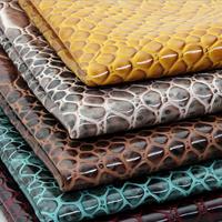 PU Snake skin Leather