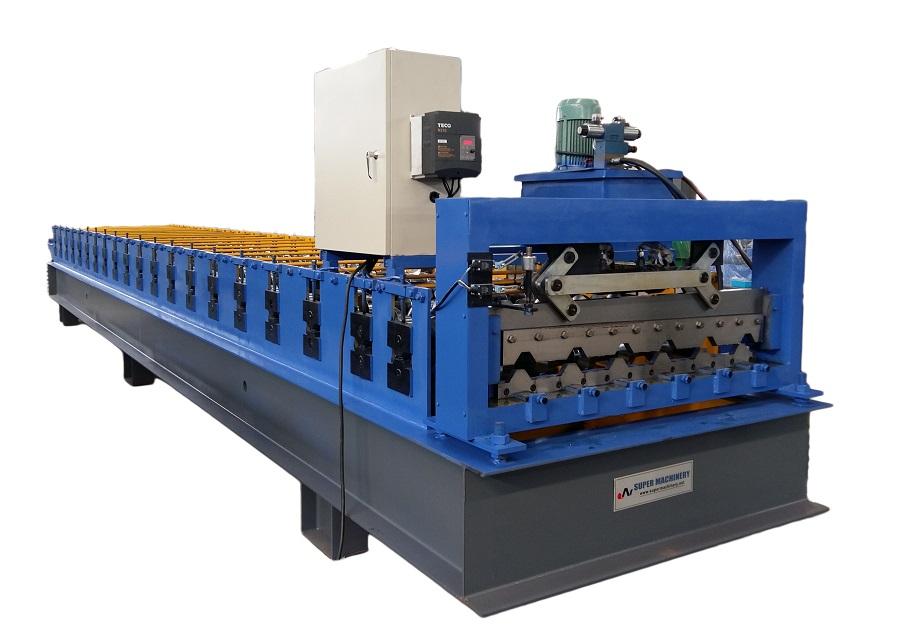 YX1000 Farbiges Dachblech glasierte Ziegelrollenformmaschine