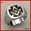 High Polihsed Stainless Steel Masonic Rings Jewelry