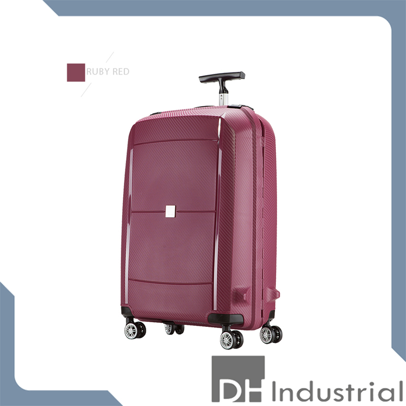 red waterproof trolley bag cases from china supplier