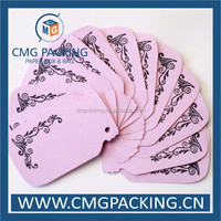 Clothing price tag label& Recycled paper price tag& Print price tag labels