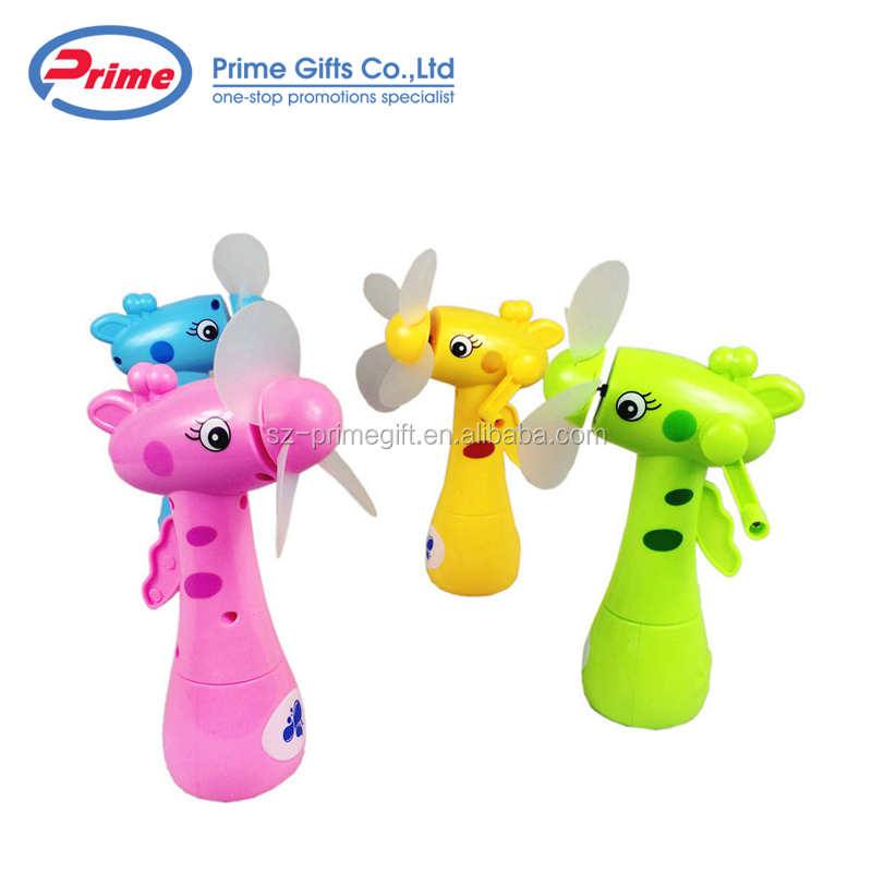 Wholesale Handhold Portable Mini Summer Toy Water Mist Spray Fan for Kids