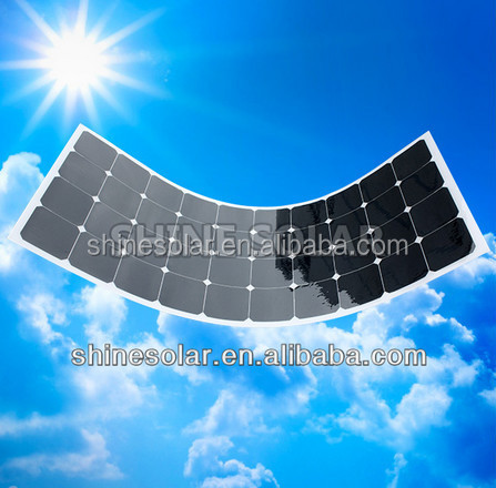 For RV golf car tent boats yachts and cabin cruisers flexible solar panel 90w 100w 110w 120w