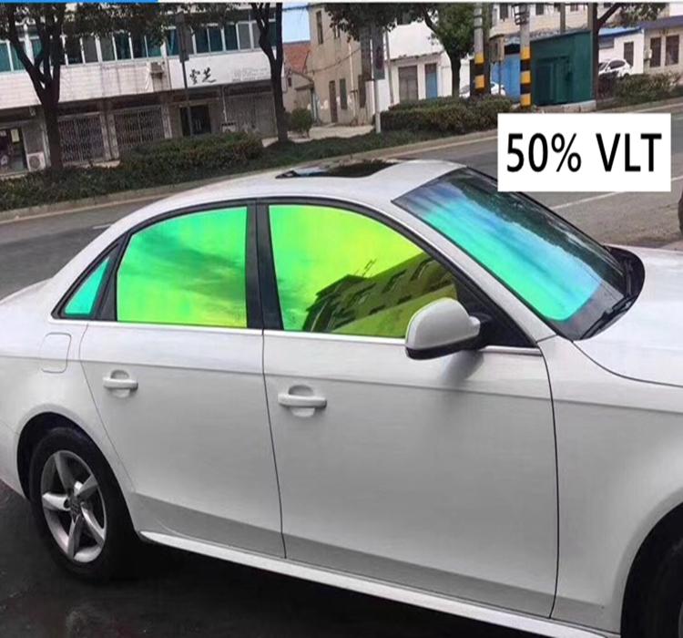 Various Colors Windshield Solar Chameleon Window Tint Film