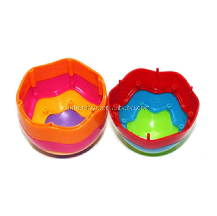 Rainbow Egg Removable Self-assembly Surprise Toy