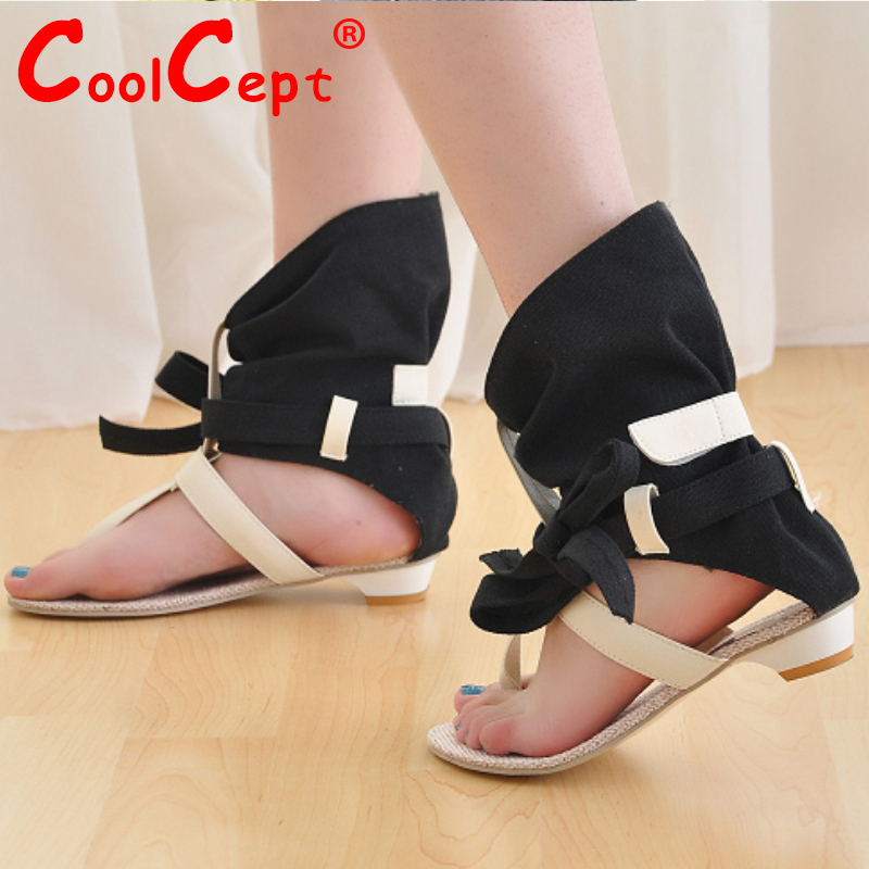 Women Summer Hot Flat Sandals High Ladies Slippers Heel Shoes Sexy Female Gladiator Shoes Women s