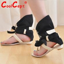 Moderní dámské sandály ve velikostech 34-43 z Aliexpress