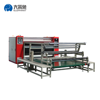 1700*600 Automatic rotary heat press machine sublimation for Roll Fabric Textile