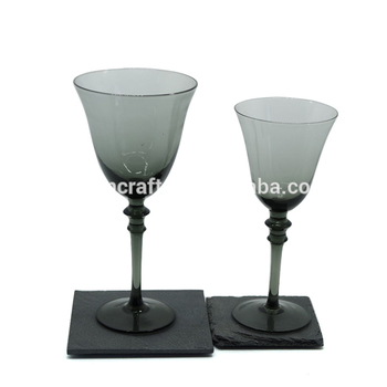 Gradient ramp stemware & water cup &Tableware&Goblet/lead free wine glass stemware,Home&Wedding&Party Usage Glass
